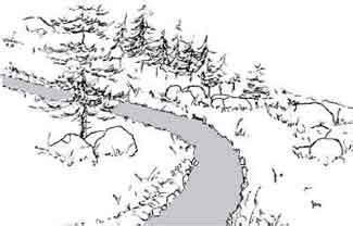 How To Draw A Hillside