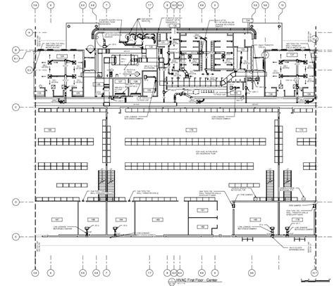 hvac floor plan hvac floor plan