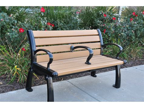 frog bench frog furnishings heritage cast aluminum recycled plastic