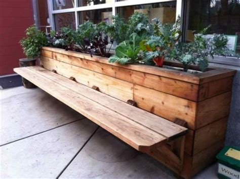 planters bench buildergibbs recent projects classroom bench planter box planters pinterest