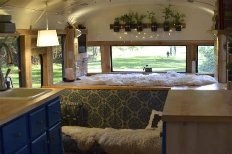 Tiny Home Interior it looks like an old abandoned bus but when i saw