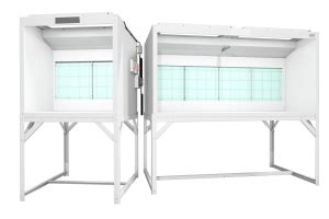 bench top spray booth bench top spray booth workhorse of many colors