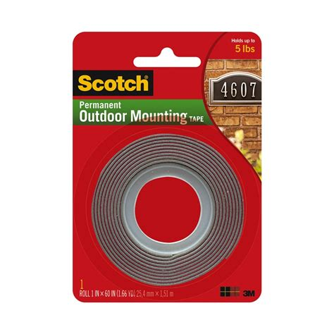 Scotch 3m Mounting 12 Mm X 3m 3m scotch 25 4mm x 1 51m heavy duty exterior mounting