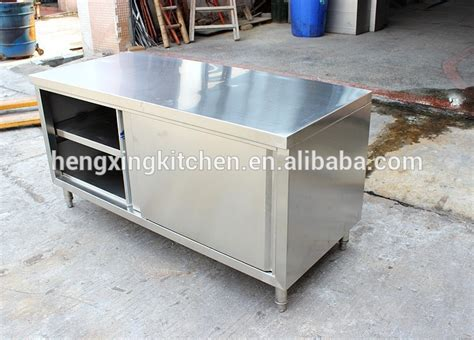 stainless steel kitchen island work table with cabinet doors and drawers kitchen working table with sink work table with cabinet