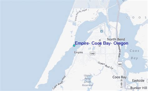 Coos Bay Tide Table by Empire Coos Bay Oregon Tide Station Location Guide