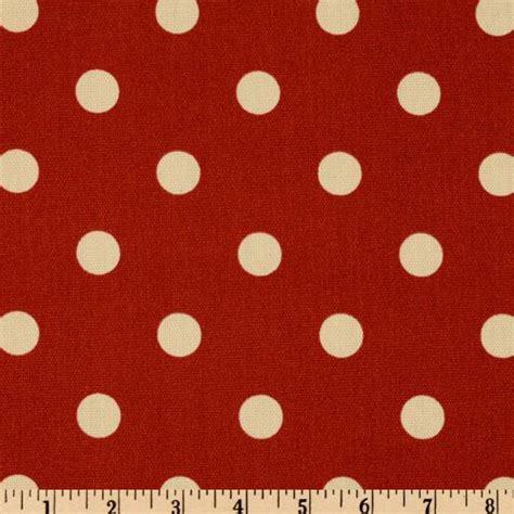 polka dot upholstery fabric premier prints indoor outdoor polka dot american red