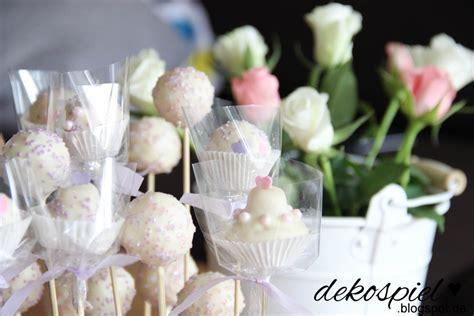 Hochzeitstorte Cake Pops by Dekospiel Diy Geschenk Blumenstrau 223 Mit Cake Pops