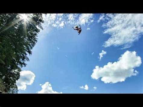devinsupertr rope swing behind the scenes 50 foot rope swing youtube