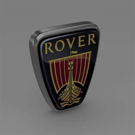 Rover Logo 3D Model .max .obj .3ds .fbx .c4d .lwo .lw .lws