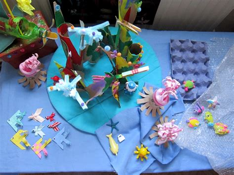 How To Make Coral Out Of Paper - reef crafts for