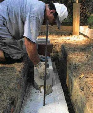 block laying basics jlc  masonry construction