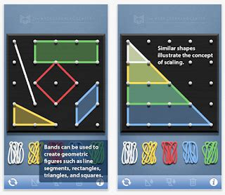 mrs. samuelson's swamp frogs: geoboard app for free!