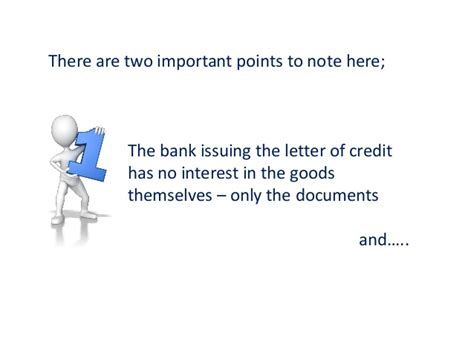 Letter Of Credit Bank Risk where the credit risk lies in letters of credit