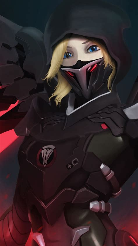 hot themes for myphone free blackwatch mercy overwatch phone wallpaper by lovepawi