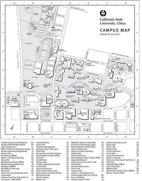 chico state map universityparent guide to california state chico maps contacts info csu chico