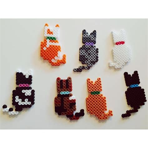 cat perler bead pattern 25 b 228 sta hama animals id 233 erna p 229