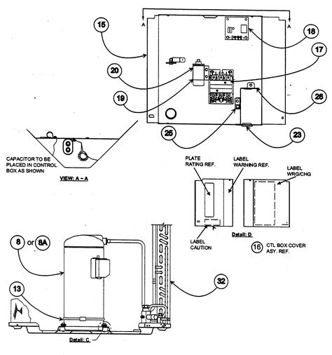 payne air conditioner parts list control box diagram parts list for model pa10ja060000aa