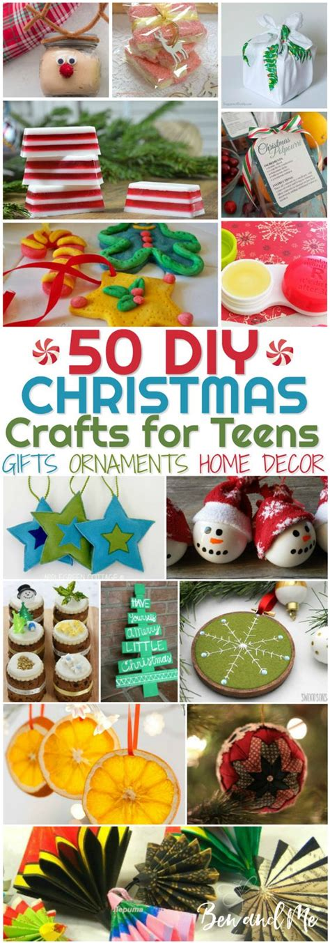 christmas craft ideas for teens diy crafts for