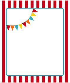 circus ticket template clipart best