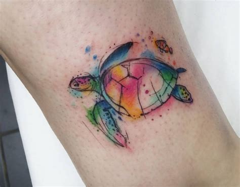 watercolor tattoos glasgow we watercolor animal tattoos tattoodo