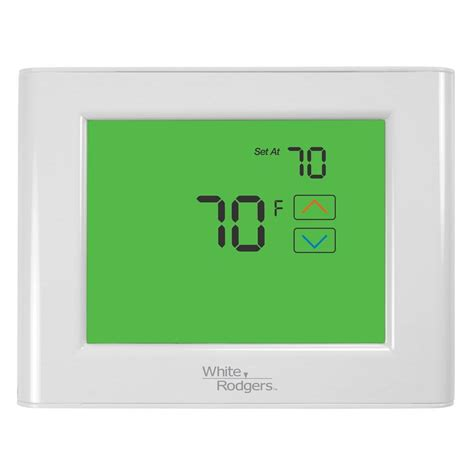 Thermostat Home Depot by Honeywell 5 2 Day Programmable Thermostat With Backlight Rth2300b The Home Depot