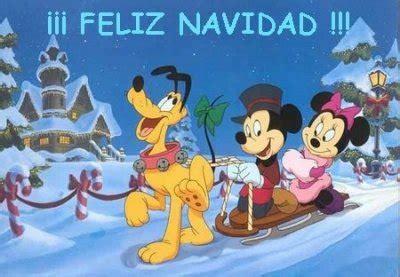 imagenes feliz navidad disney postales de personajes disney en navidad