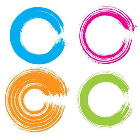 imagenes circulo zen c 237 rculos coloridos gr 225 ficos en estilo grunge descargar