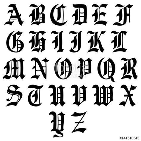 lettere gotiche da stare quot alphabet lettres gothique quot fichier