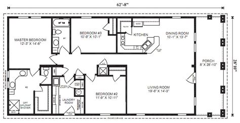prefabricated floor plans the captiva ii modular home 3 bedrooms 2 baths square 1 807 dimensions 62 8 quot x 28