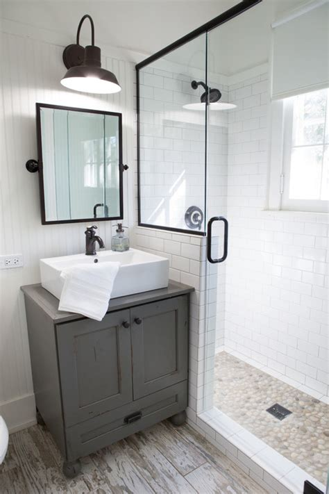Remodeling Bathroom Shower Ideas 20 Beautiful Farmhouse Bathroom Decor Ideas How To Simplify