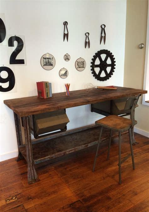 work bench desk workbench computer desk beautiful wooden workbench hides a pc maker s desk technabob