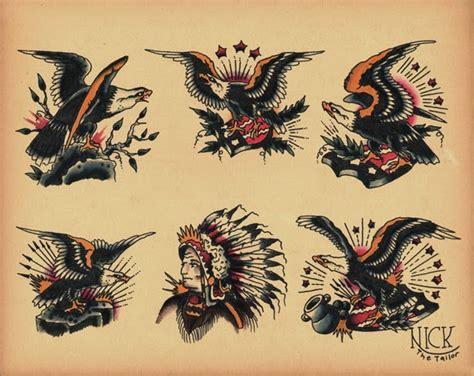 tattoo old school aquila art and tattoo eagle