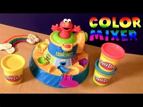 play doh color mixer play doh elmo color mixer from sesame with cookie