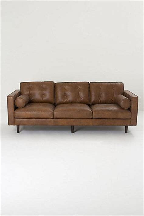 anthropologie leather couch kistler sofa anthropologie com