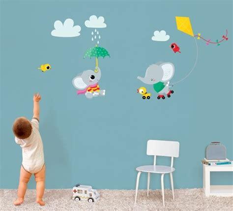Deko Sticker Kinder by Kinder Wandtattoo Elefanten Wandsticker Sticker