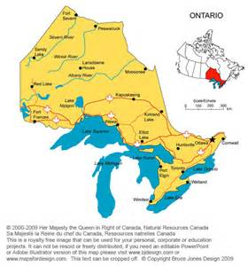 city map canada gallery ontario canada map outline