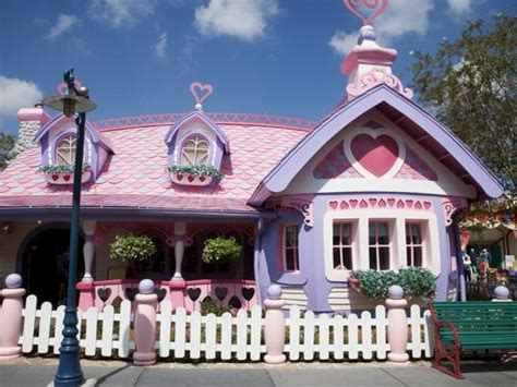 house of minnie mouse, disney world, orlando, florida, usa