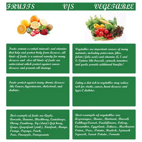 vegetables vs fruits health nutrition tips fruits vs vegetables
