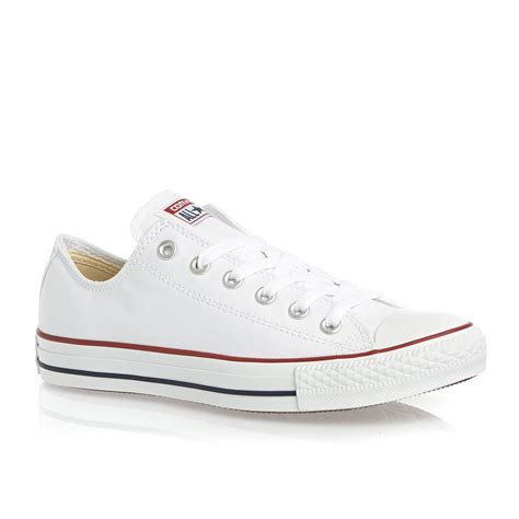 converse all ox shoes optical white free uk delivery