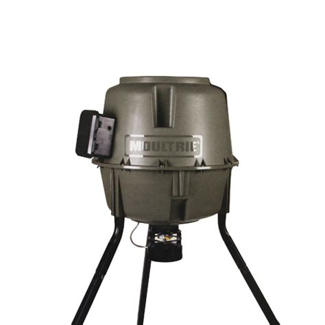 Moutrie Feeders moultrie feeders tripod feeder w ql hopper 30 gallon e z fill mfg 12608 ebay