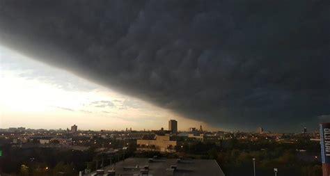 Shelf Cloud Tornado by On September 21 2016 In The Morning A Terrifying Shelf