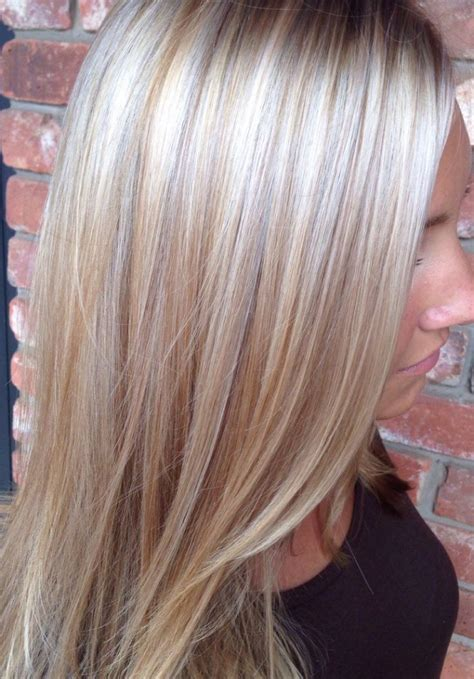 blonde and lowlights for medium straight hair blonde hair with lowlights hairstyle archives