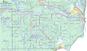 Michigan Snowmobile Trail Map by Lower Michigan Map Quotes