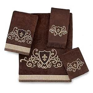 avanti bath towel collection in mocha bed bath