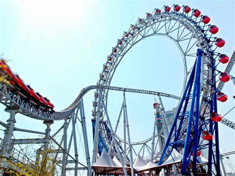 the roller coaster at flambards theme park near helston crazy roller coasters travelchannel com travel channel