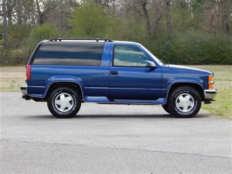 1996 2 Door Tahoe For Sale by Used 1996 Chevrolet Tahoe For Sale Carsforsale