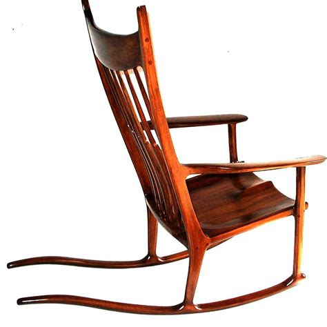 rocker bench pdf plans maloof inspired rocking chair plans download diy