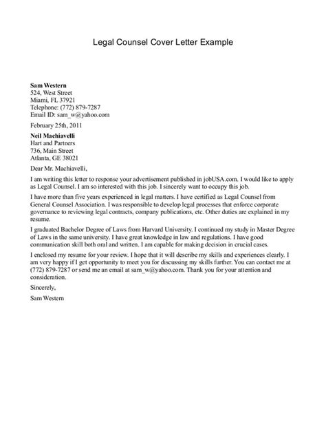 Cover Letter Exles For Lawyers by Cover Letter Template Areas Sle Letters