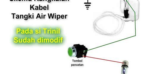 Jual Saklar Wiper daihatsu charade g10 indonesia modifikasi tombol saklar