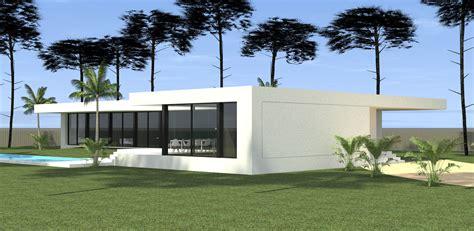 Constructeur Maison Moderne Toit Plat by Construction D Une Maison Moderne Toit Plat Dans Les